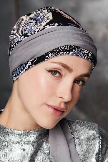 peruca turbanul mayte reversibe imprime, peruci cluj, peruci timisoara, peruca gisela mayer